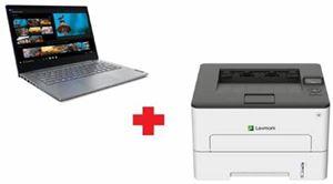 "Picture of Lenovo ThinkBook 14 -20RV00C1AU- Intel i5-10210U / 8GB / 512GB SSD / 14"" FHD / W10P / 1-1-1 + FREE Lexmark B2236dw Monochrome Compact Laser Printer"