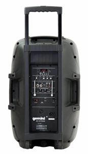 "Picture of Gemini ES-12TOGO Portable PA speaker system (12"" Active battery-powered loudspeaker 