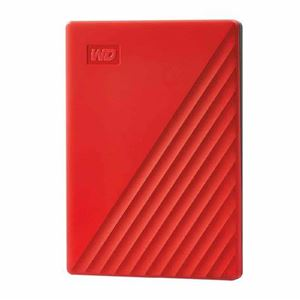 "Picture of WD MY Paspport 4TB RED 2.5"" Portable Harddrive"