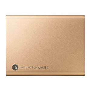 Picture of Samsung T5 Portable SSD 1TB/Up to 540MB/Sec Transfer speed/Rose Gold/51g