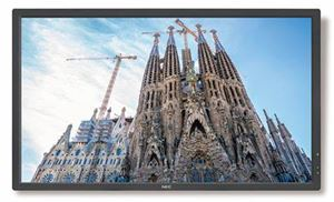 "Picture of NEC 32"" V323-3  LED Display/ 24/7 Usage/ 16:9/ 1920 x 1080/ 3000:1/ S-IPS Panel/ VGA,DVI, HDMI, DP/ Speakers/ Optional OPS"