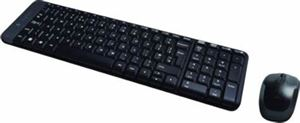 Picture of Logitech Wireless Keyboard & Mouse Combo, MK220, Black, USB Receiver, ) - International Edition with English Packaging