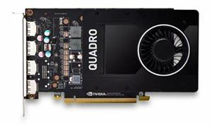 Picture of Leadtek Quadro P2200 Work Station Graphics Card PCIE 5GB DDR5, 4H(DP), Single Slot, 1x Fan, ATX (Software disc not included)
